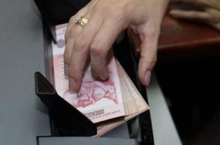 Prosečna januarska neto plata u Srbiji 63.109 dinara