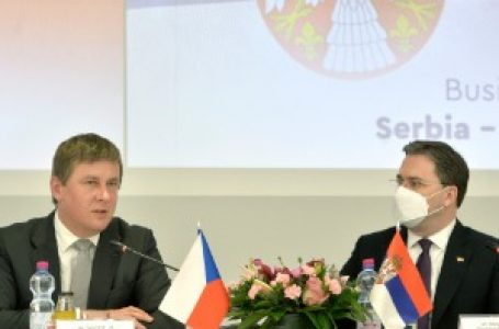 Robna razmena Srbije i Češke u 2020. blizu 1,2 milijarde evra