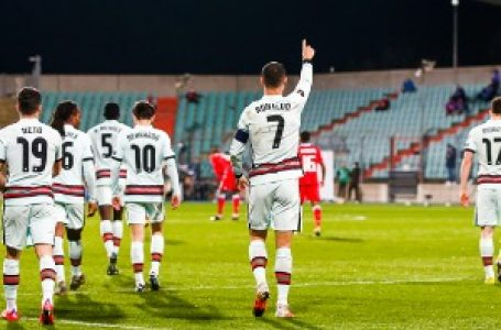 Portugalci preokretom do pobede u Luksemburgu