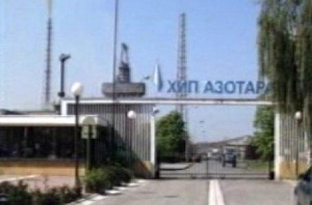 """""""Azotara"""" u stečaju ponuđena po treći put za 581 miliona dinara"""