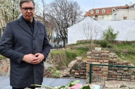 Vučić: Srbija ostaje posvećena idealima antifašizma i sloboda