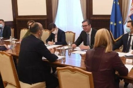 Vučić sa Fabricijem o vladavini prava, demokratskom upravljanju i međustranačkom dijalogu