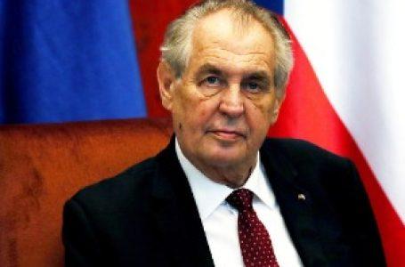 Zeman: Odnosi Srbije i Češke odlični, priznanje kosovske nezavisnosti greška