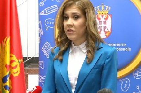 Crnogorska ministarka prosvete: Najbolji odnosi sa Srbijom prioritet
