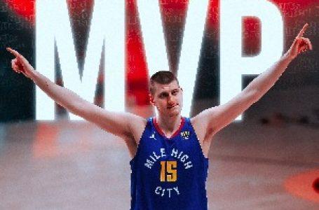 Rezultati glasanja za MVP-a: Jokiću i više nego ubedljiva pobeda