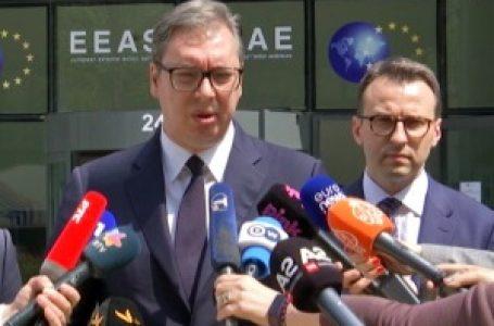Vučić u Briselu: Rekao sam da nikad nećemo priznati Kosovo i onda se Kurti detonirao