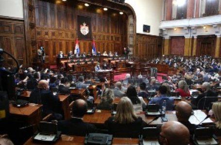 Skupština Srbije usvojila Zakon o popisu u poljoprivredi, dopune Zakona o sudijama i VSS