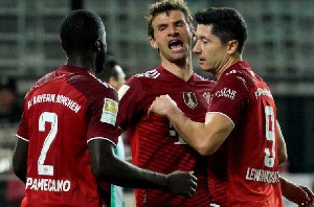 Bajern ubedljiv u Firtu uprkos igraču manje, Levandovski konačno nije dao gol